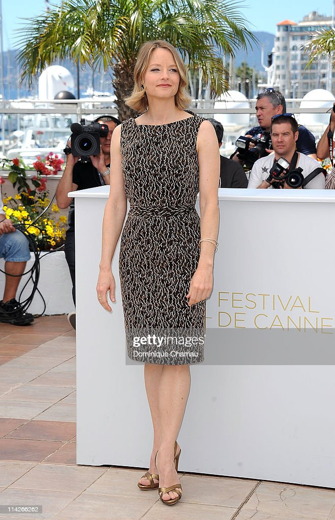 Director and actress Jodie Foster attends the 'The Beaver' Photocall at the Palais des Festivals during the 64th Cannes Film Festival on May 17 2011...