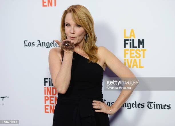 Director and actress Lea Thompson attends the 2017 Los Angeles Film Festival premiere of 'The Year Of Spectacular Men' at ArcLight Santa Monica on...