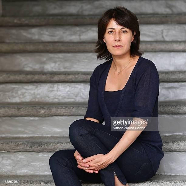 Director and Actress Marilyne Canto poses for a portrait during the 66th Locarno Film Festival on August 9 2013 in Locarno Switzerland
