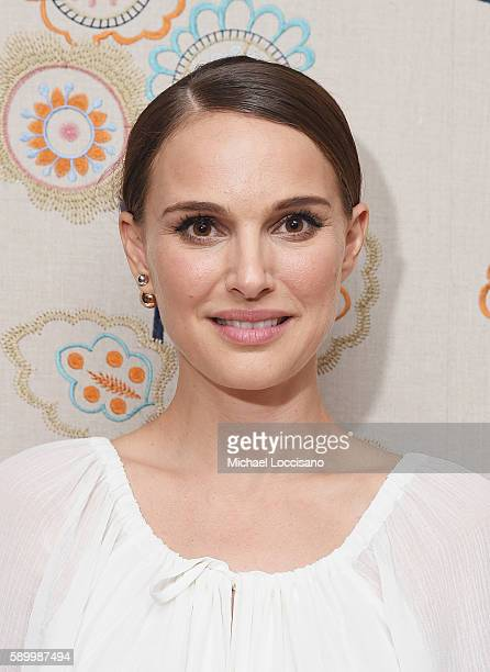 Director and actress Natalie Portman attends the after party for the New York premiere of 'A Tale Of Love Darkness' at Crosby Street Hotel on August...