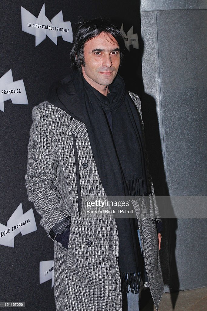 Director and author Samuel Benchetrit attends 'Amour' Premiere at la cinematheque on October 15 2012 in Paris France
