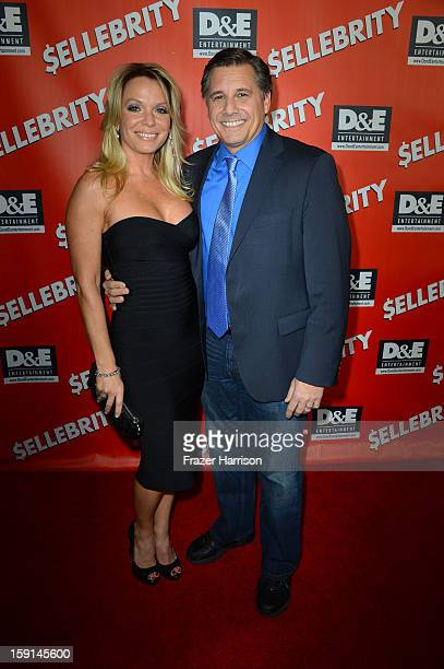 Director and Celebrity Photographer Kevin Mazur and Jennifer Mazur arrive at the premiere of '$ellebrity' at Mann's 6 Theatre on January 8 2013 in...