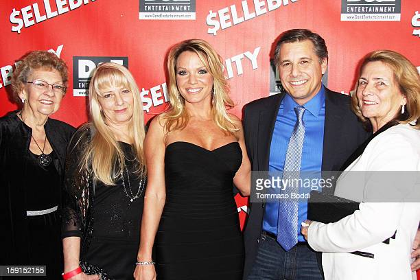 Director and Celebrity Photographer Kevin Mazur and Jennifer Mazur with their family attend the '$ellebrity' Los Angeles premiere held at the Mann...