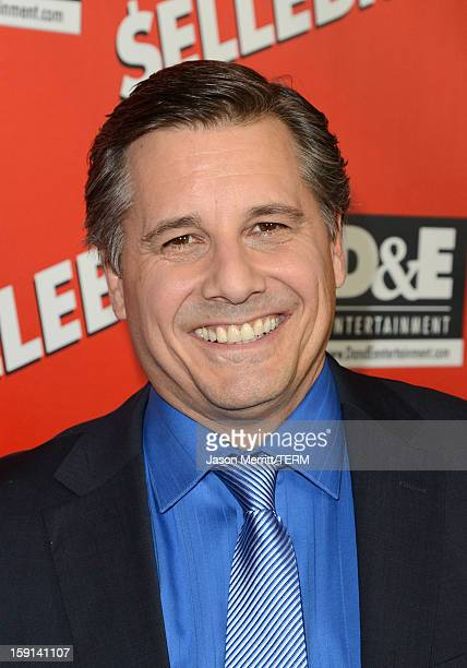 Director and Celebrity Photographer Kevin Mazur arrives at the premiere of '$ellebrity' at Mann's 6 Theatre on January 8 2013 in Hollywood California