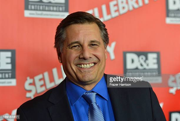 Director and Celebrity Photographer Kevin Mazur arrives at the Premiere Of '$ellebrity' at the Mann's 6 Theatre on January 8 2013 in Hollywood...