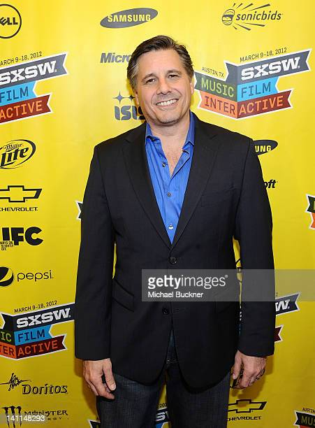Director and Celebrity Photographer Kevin Mazur arrives to the world premiere of '$ELLEBRITY' at the 2012 SXSW Music Film Interactive Festival at the...