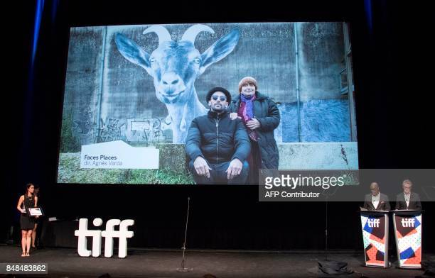 Director and CEO of the Toronto International Film Festival Piers Handling and Tiff Programmer Cameron Bailey announce the Grolsch People's Choice...