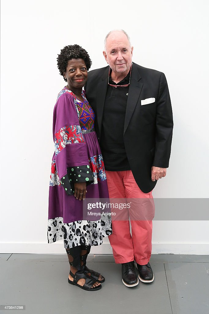 Director and Chief Curator of The Studio Museum in Harlem Thelma Golden and Director of Brooklyn Museum Dr Arnold Lehman attend Frieze New York 2015...