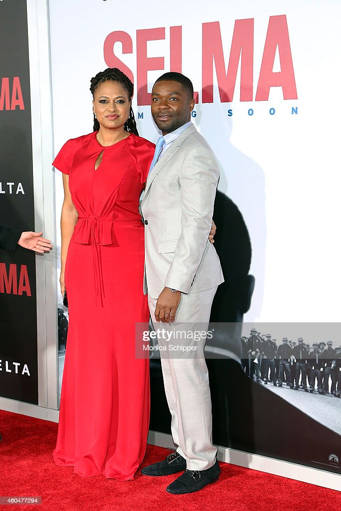 Director and Executive Producer Ava DuVernay (L) and actor David Oyelowo attend 'Selma' New York Premiere - Inside Arrivals at Ziegfeld Theater on December 14, 2014 in New York City.