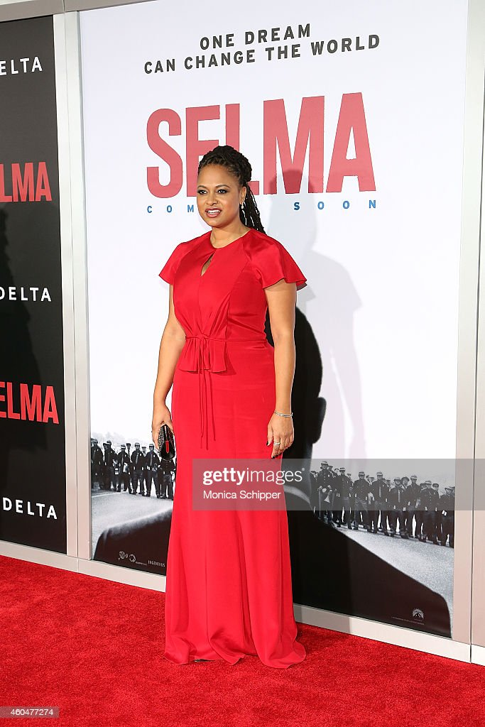 Director and Executive Producer Ava DuVernay attends 'Selma' New York Premiere - Inside Arrivals at Ziegfeld Theater on December 14, 2014 in New York City.