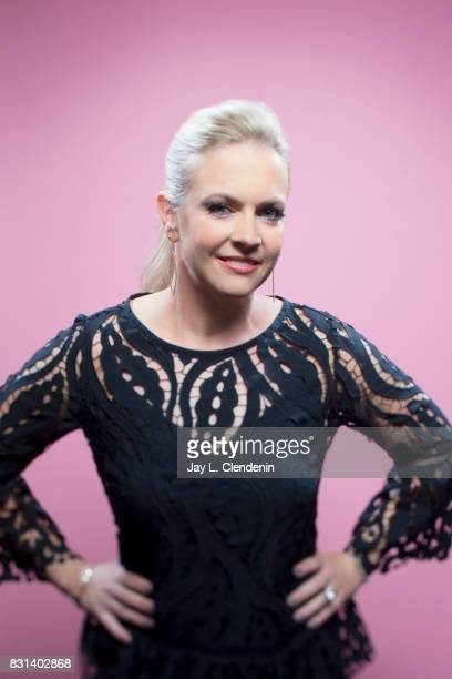 Director and Executive Producer Melissa Joan Hart from the film 'The Watcher in the Woods' is photographed in the LA Times photo studio at ComicCon...