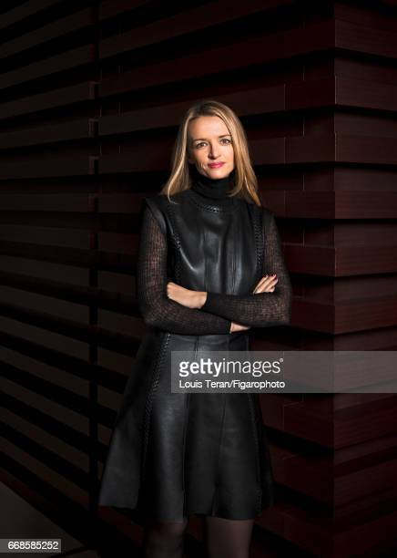 Director and executive Vice President of Louis Vuitton Delphine Arnault is photographed for Madame Figaro on March 2 2017 in Paris France PUBLISHED...