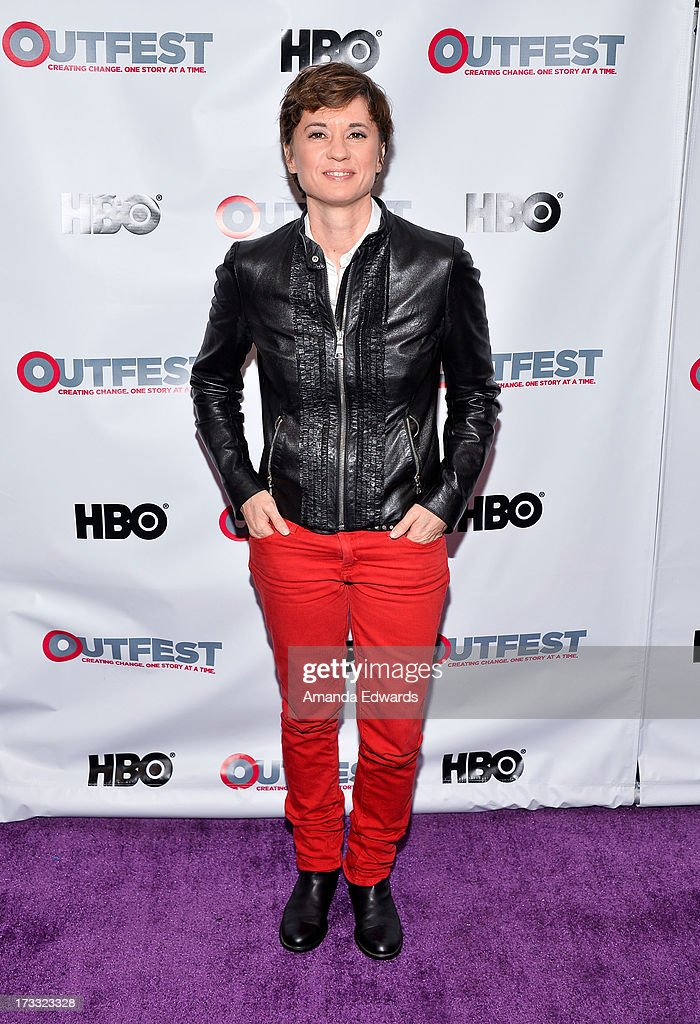 Director and honoree Kimberly Peirce arrives at the 2013 Outfest Opening Night Gala of C.O.G. at The Orpheum Theatre on July 11, 2013 in Los Angeles, California.
