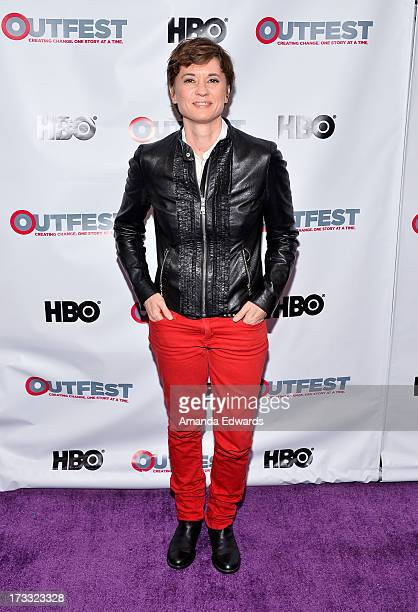 Director and honoree Kimberly Peirce arrives at the 2013 Outfest Opening Night Gala of COG at The Orpheum Theatre on July 11 2013 in Los Angeles...