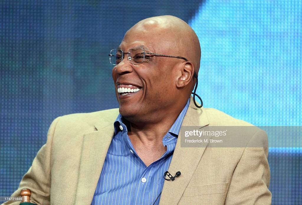 Director and President of the Directors Guild of America Paris Barclay speaks onstage during 'FX Directors' panel as part of the 2013 Summer Television Critics Association tour at the Beverly Hilton Hotel on July 28, 2013 in Beverly Hills, California.
