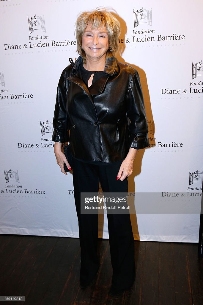 Director and president of the Jury Daniele Thompson attends 'Les Heritiers' receives Cinema Award 2014 of Foundation Diane & Lucien Barriere during the premiere of the movie at Publicis Champs Elysees on November 17, 2014 in Paris, France.