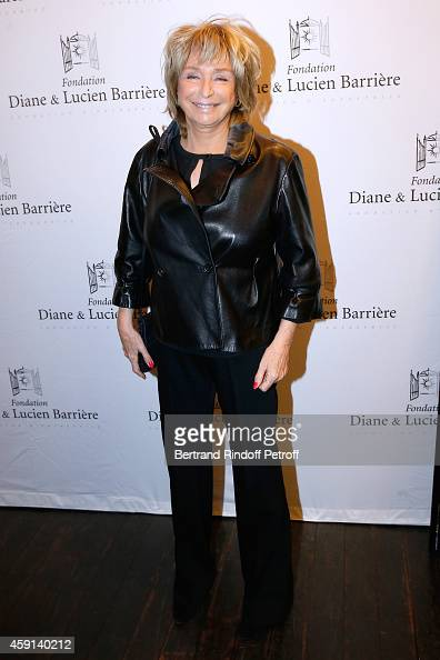 Director and president of the Jury Daniele Thompson attends 'Les Heritiers' receives Cinema Award 2014 of Foundation Diane Lucien Barriere during the...