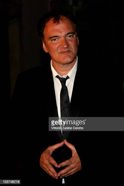 Director and President of the Jury Quentin Tarantino attends the Uomo Vogue Hosts Dinner For Quentin Tarantino during the 67th Venice International...