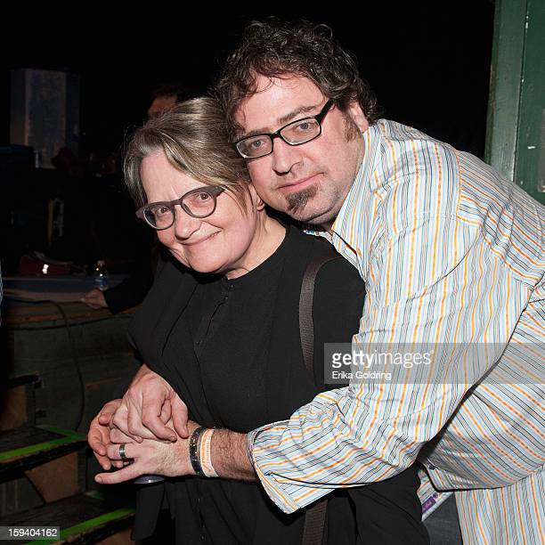 Director and screenwriter Agnieszka Holland and New Orleans musician Davis Rogan attend 'My Lil' Darlin' An HBO Treme All Star Revue' at Tipitina's...