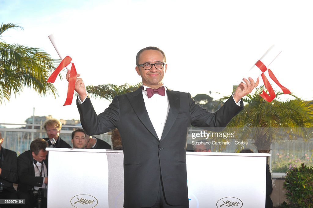 Director and screenwriter Andrei Zvyagintsev, winner of the Best Screenplay for his film 'Leviathan' at the Winners photocall during 67th Cannes Film Festival