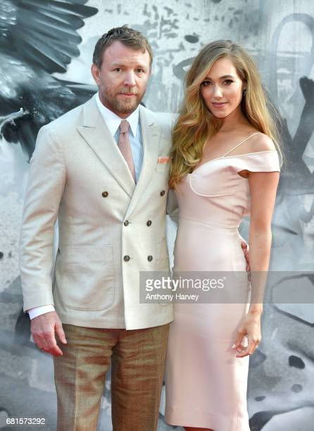 Director and screenwriter Guy Ritchie and Jacqui Ainsley attend the 'King Arthur Legend of the Sword' European premiere at Cineworld Empire on May 10...