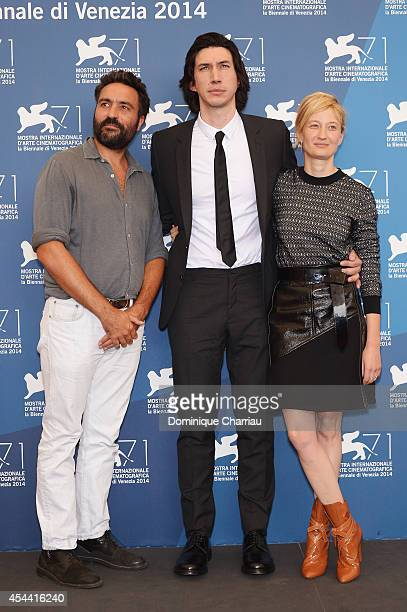 Director and screenwriter Saverio Costanzo and actor Adam Driver and actress Alba Rohrwacher attend the 'Hungry Hearts' photocall during the 71st...