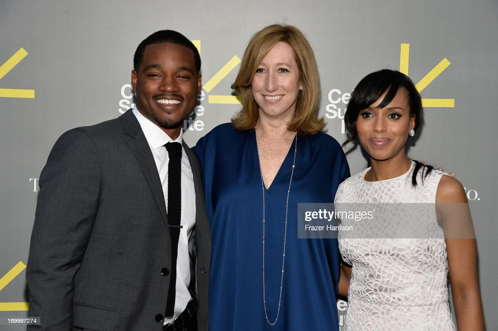 Director and Vanguard Award recipient <a gi-track='captionPersonalityLinkClicked' href=/galleries/search?phrase=Ryan+Coogler&family=editorial&specificpeople=7316581 ng-click='$event.stopPropagation()'>Ryan Coogler</a>, Sundance Institute Executive Director <a gi-track='captionPersonalityLinkClicked' href=/galleries/search?phrase=Keri+Putnam&family=editorial&specificpeople=226879 ng-click='$event.stopPropagation()'>Keri Putnam</a>, and actress and Vanguard Award presenter <a gi-track='captionPersonalityLinkClicked' href=/galleries/search?phrase=Kerry+Washington&family=editorial&specificpeople=201534 ng-click='$event.stopPropagation()'>Kerry Washington</a> attend the 2013 'Celebrate Sundance Institute' Los Angeles Benefit hosted by Tiffany & Co. at The Lot on June 5, 2013 in West Hollywood, California.