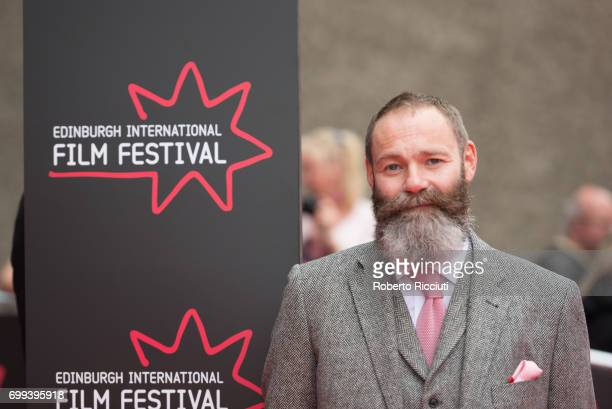 Director and writer Francis Lee attends the UK premiere of 'God's Own Country' and opening gala of the 71th Edinburgh International Film Festival at...