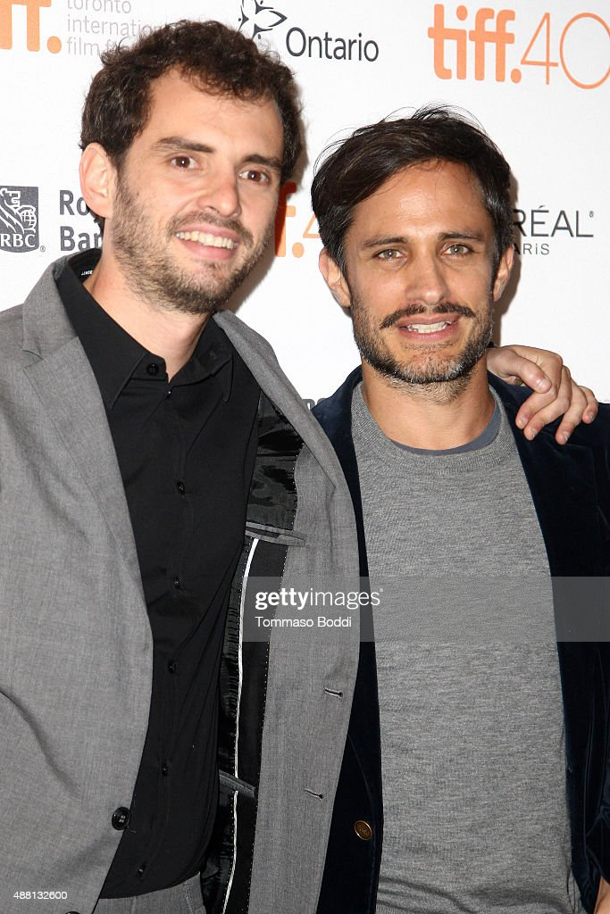 Director and writer Jonas Cuaron and actor Gael Garcia Bernal attend the 'Desierto' premiere during the 2015 Toronto International Film Festival held at The Elgin on September 13, 2015 in Toronto, Canada.