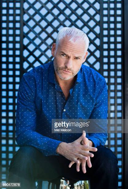 Director and writer of 'Three Billboards Outside Ebbing Missouri' Martin McDonagh is photographed for Los Angeles Times on October 27 2017 in Los...