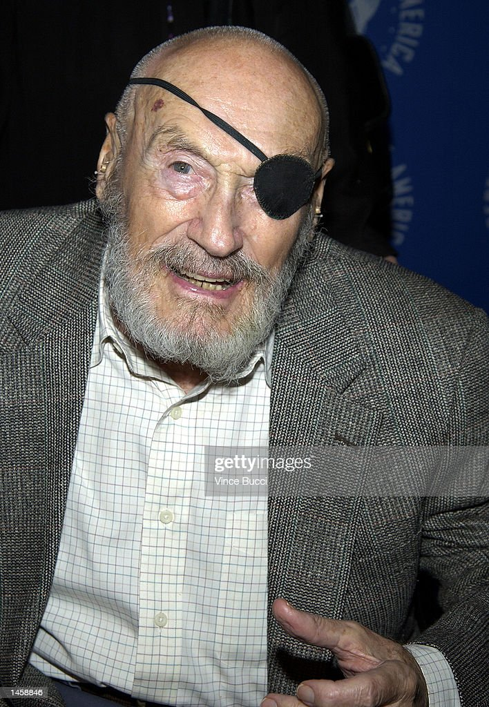 Director Andre de Toth attends a tribute to the career of the late director George Sidney on October 3, 2002 at the Directors Guild of America in Hollywood, California.