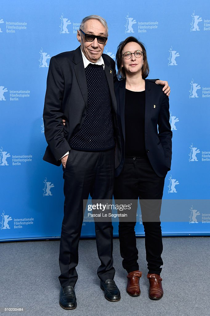 Director <a gi-track='captionPersonalityLinkClicked' href=/galleries/search?phrase=Andre+Techine&family=editorial&specificpeople=2349575 ng-click='$event.stopPropagation()'>Andre Techine</a> and writer Celine Sciamma attend the 'Being 17' (Quand on a 17 ans) photo call during the 66th Berlinale International Film Festival Berlin at Grand Hyatt Hotel on February 14, 2016 in Berlin, Germany.