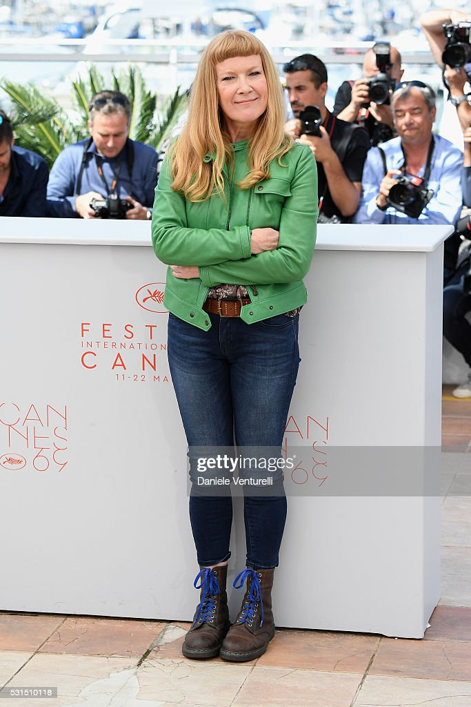 Director <a gi-track='captionPersonalityLinkClicked' href=/galleries/search?phrase=Andrea+Arnold&family=editorial&specificpeople=606927 ng-click='$event.stopPropagation()'>Andrea Arnold</a> attends the 'American Honey' photocall during the 69th annual Cannes Film Festival at the Palais des Festivals on May 15, 2016 in Cannes, France.