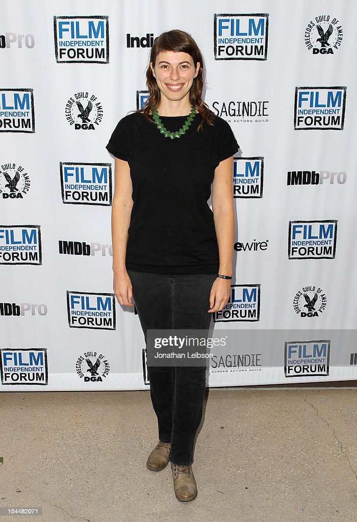 Director Andrea Meller attends the Film Independent Film Forum at Directors Guild of America on October 20, 2012 in Los Angeles, California.