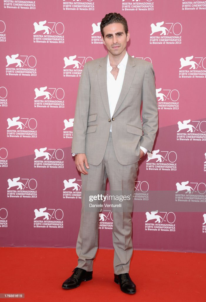 Director Andrea Pallaoro attends 'Medeas' Photocall during the 70th Venice International Film Festival at Palazzo del Casino on September 2, 2013 in Venice, Italy.