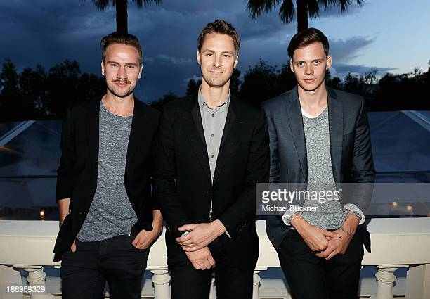 Director Andreas Ohman Todd Courtney and Bill Skarsgard attend a benefit held by Mammoth Entertainment and LyonHeartLove Foundation to protect...