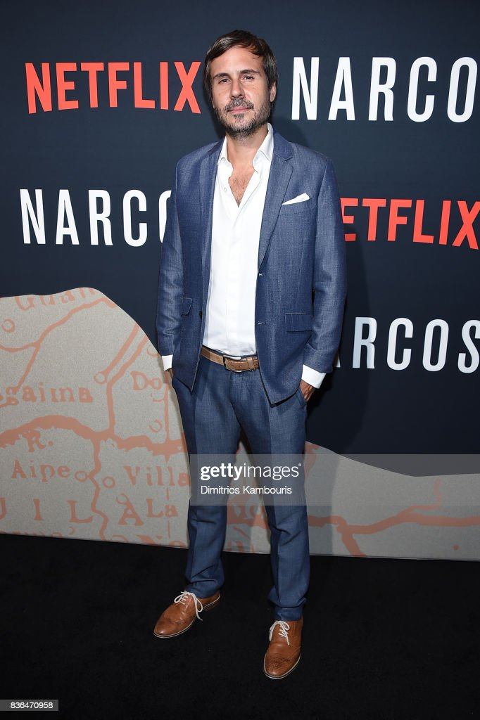 Director Andres Baiz attends the 'Narcos' Season 3 New York Screening at AMC Loews Lincoln Square 13 theater on August 21, 2017 in New York City.