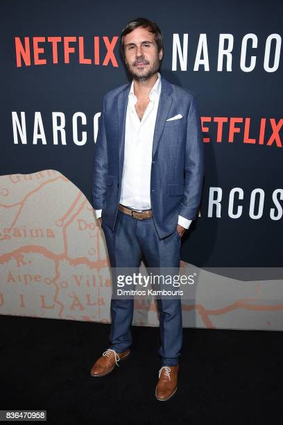 Director Andres Baiz attends the 'Narcos' Season 3 New York Screening at AMC Loews Lincoln Square 13 theater on August 21 2017 in New York City
