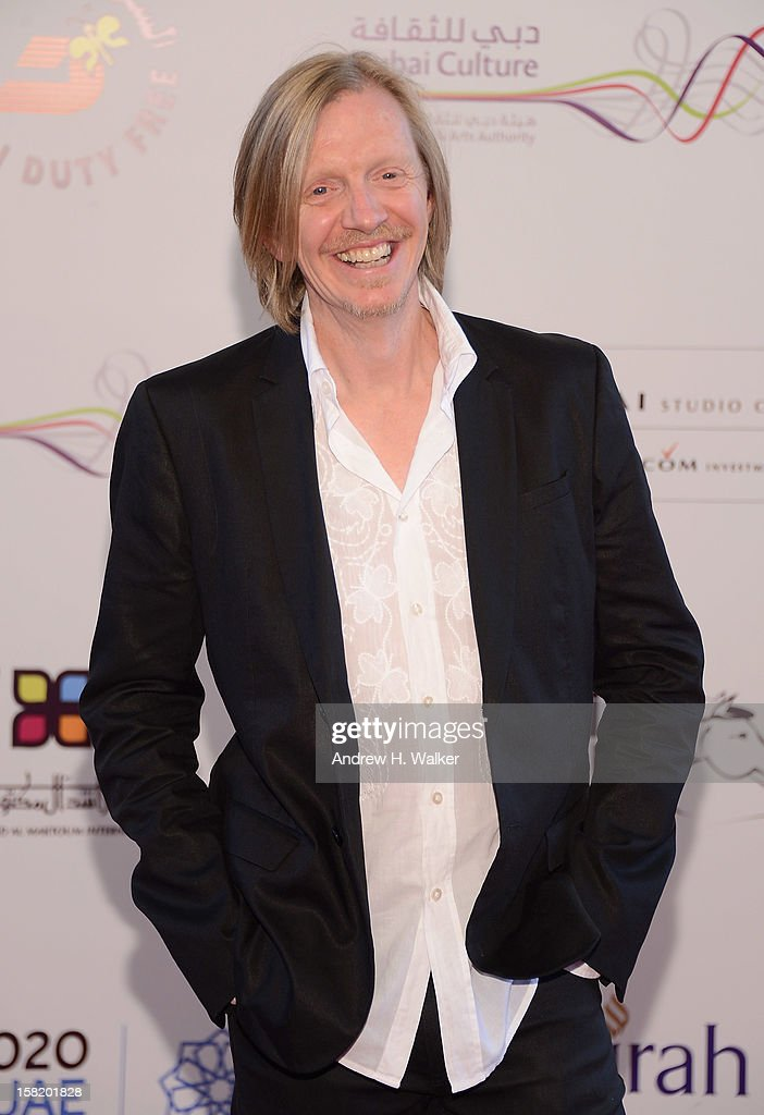 Director Andrew Adamson attends the 'Cirque du Soleil: Worlds Away 3D' premiere during day three of the 9th Annual Dubai International Film Festival held at the Madinat Jumeriah Complex on December 11, 2012 in Dubai, United Arab Emirates.
