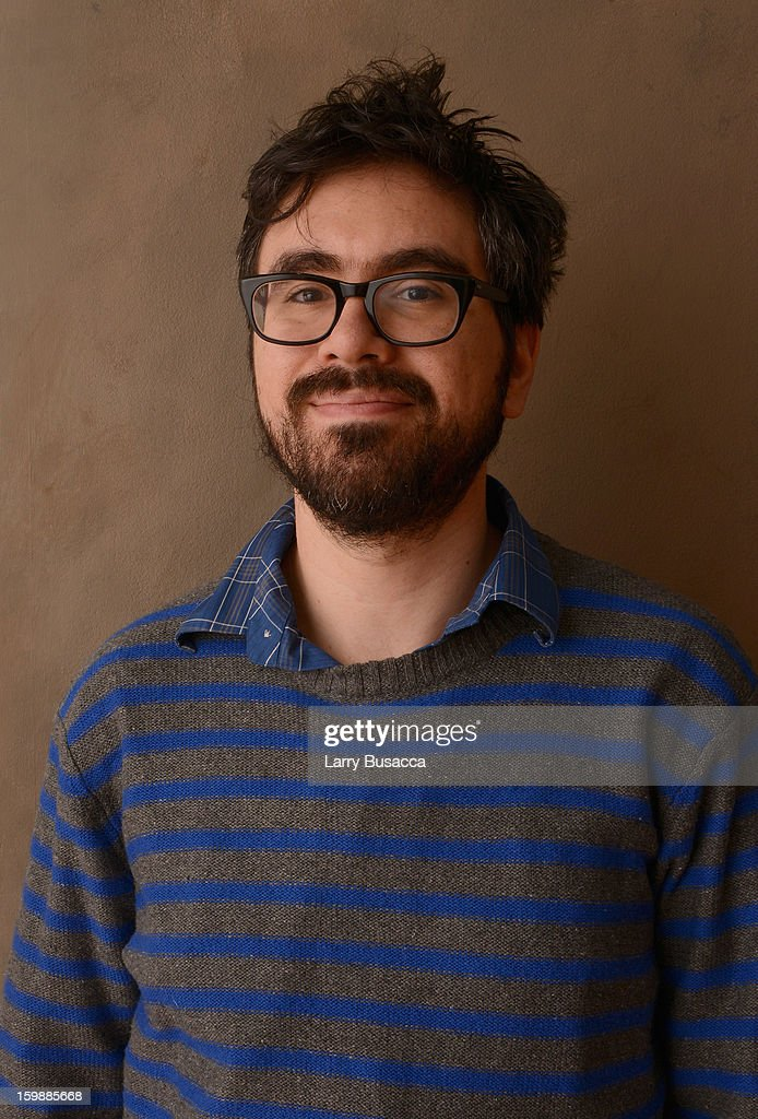 Director Andrew Bujalski poses for a portrait during the 2013 Sundance Film Festival at the Getty Images Portrait Studio at Village at the Lift on January 22, 2013 in Park City, Utah.