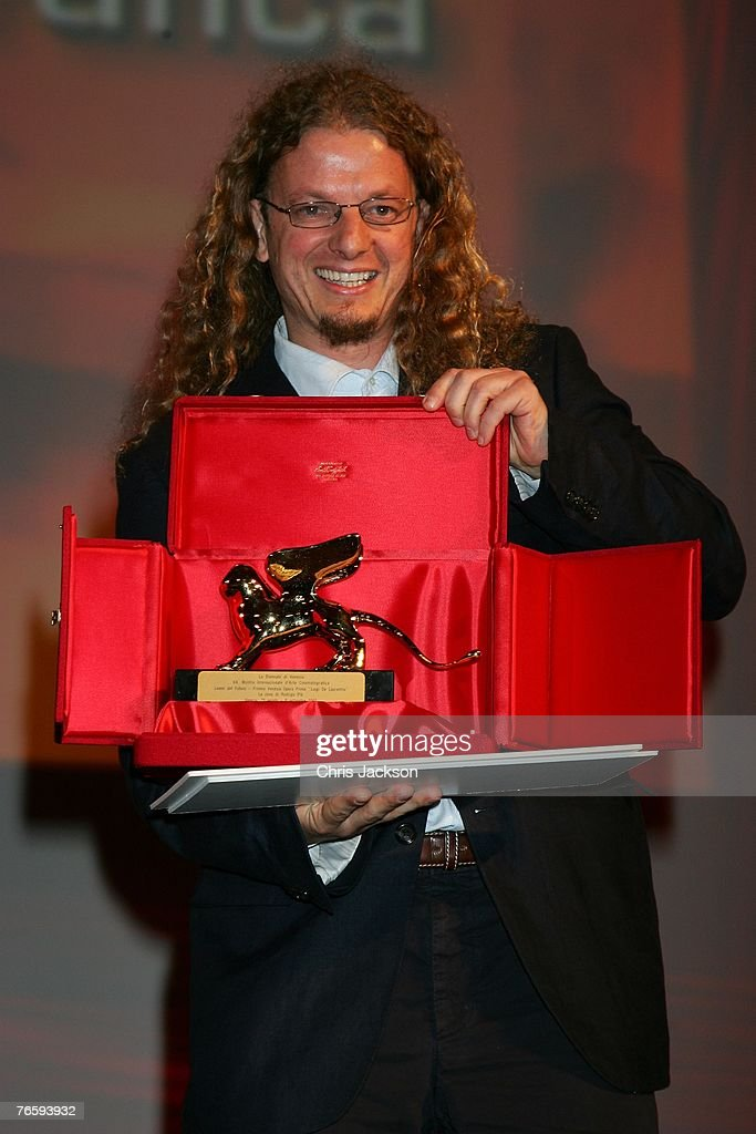 Director Andrew Dominik receives an award for film The Assassination of Jesse James by the Coward Robert Ford during the Leone d'Oro del 75th closing...