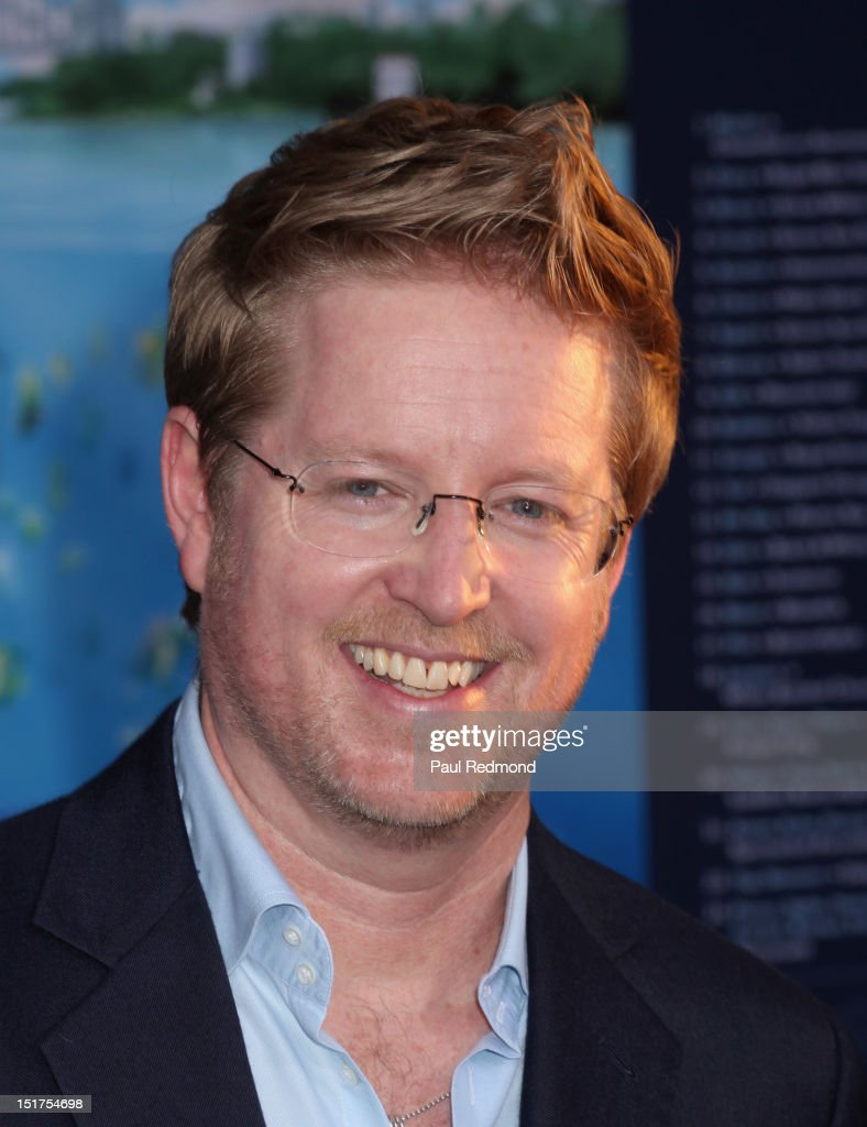 Director <a gi-track='captionPersonalityLinkClicked' href=/galleries/search?phrase=Andrew+Stanton&family=editorial&specificpeople=2104727 ng-click='$event.stopPropagation()'>Andrew Stanton</a> arrives at 'Finding Nemo' Disney Digital 3D - Los Angeles Premiere at the El Capitan Theatre on September 10, 2012 in Hollywood, California.
