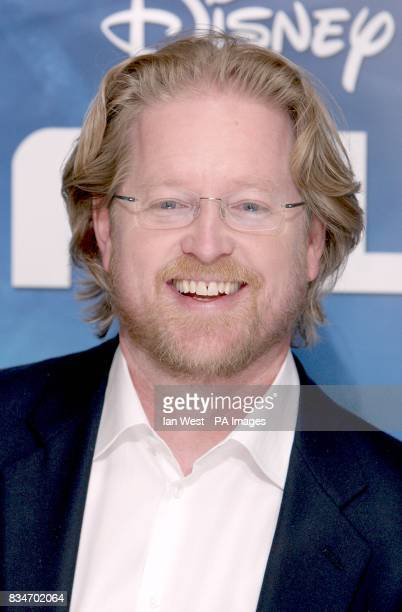 Director Andrew Stanton arrives for the UK premiere of 'WALLE' at the Empire Leicester Square London WC2
