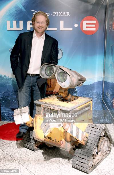 Director Andrew Stanton at the UK premiere of 'WALLE' at the Empire Leicester Square London WC2
