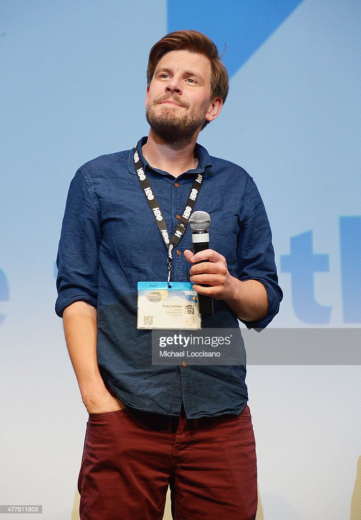 Director Andy Landen takes part in a Q&A following the 'Sequoia' premiere during the 2014 SXSW Music, Film + Interactive Festival at the Topfer Theatre at ZACH on March 9, 2014 in Austin, Texas.
