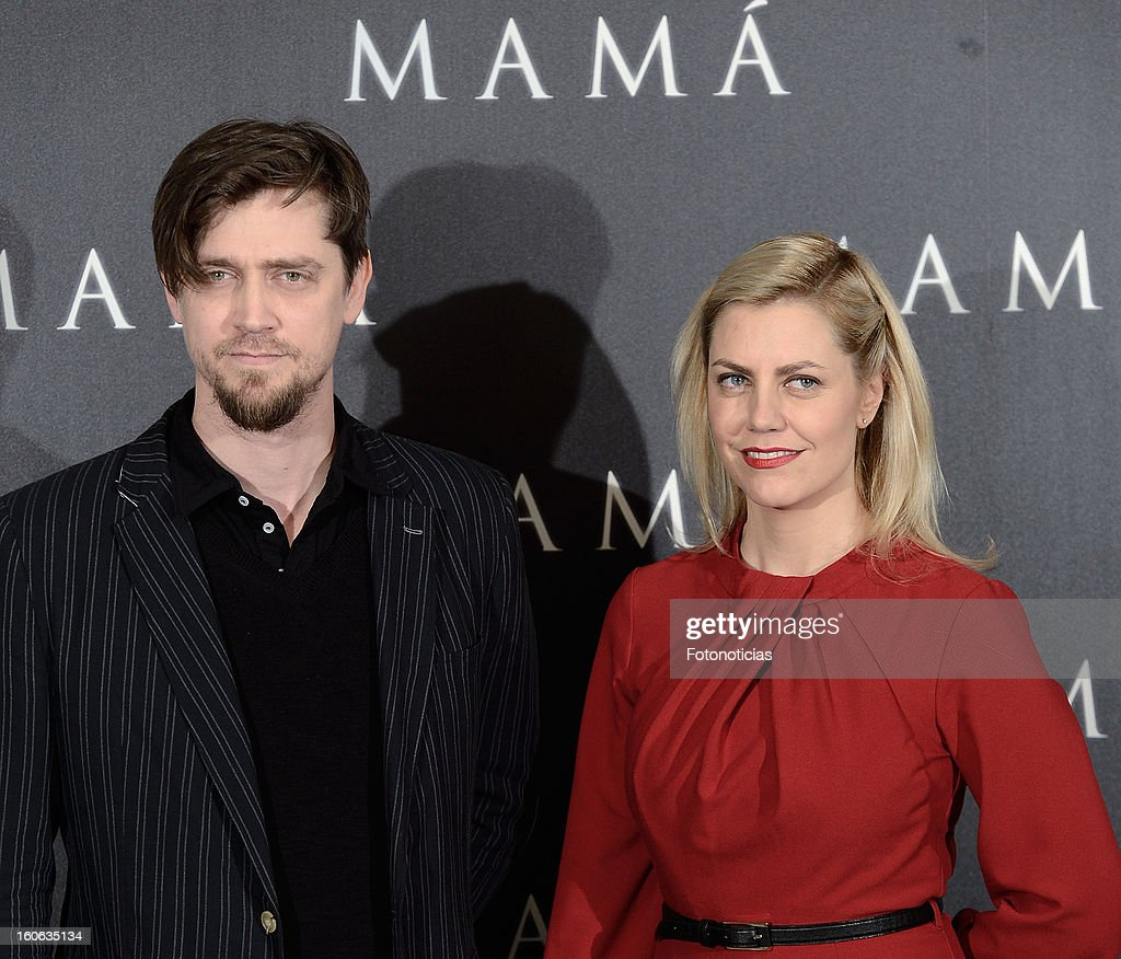 Director Andy Muschietti and producer Barbara Muschietti attend a photocall for 'Mama' at the Villamagna Hotel on February 4, 2013 in Madrid, Spain.