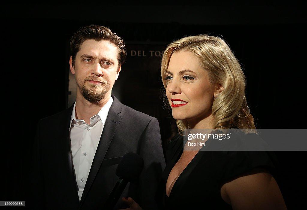 Director Andy Muschietti and producer Barbara Muschietti attend the 'Mama' screening at Landmark's Sunshine Cinema on January 7, 2013 in New York City.