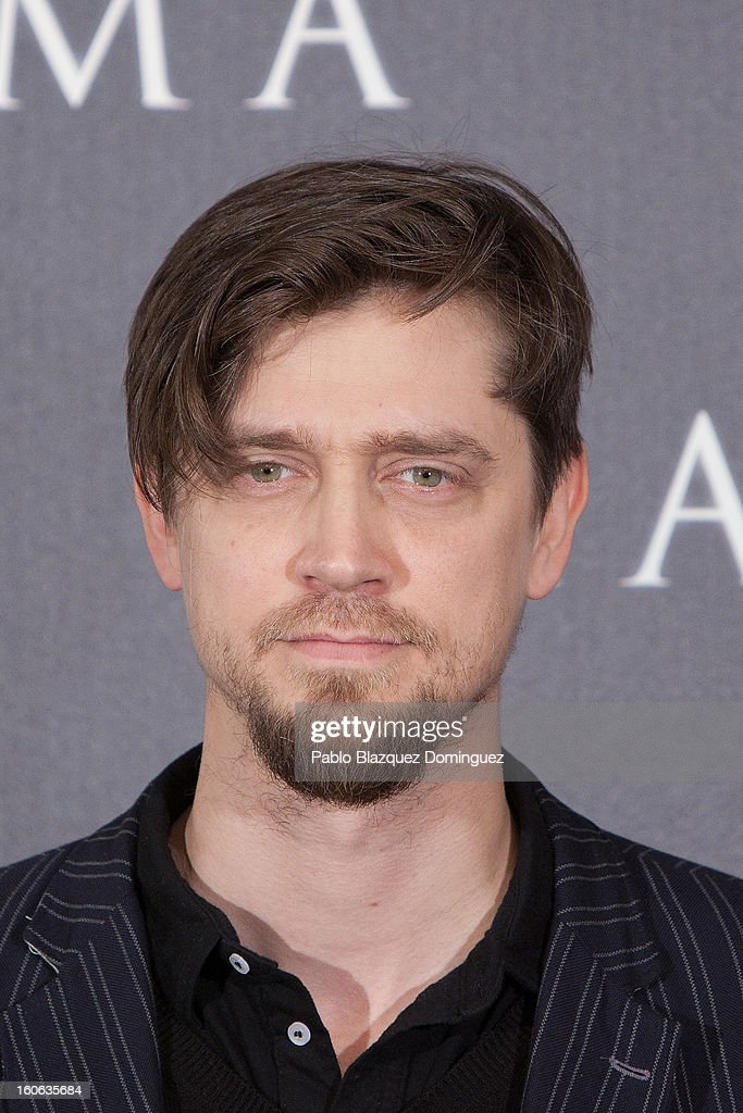 Director Andy Muschietti attends the 'Mama' photocall at Villamagna Hotel on February 4, 2013 in Madrid, Spain.