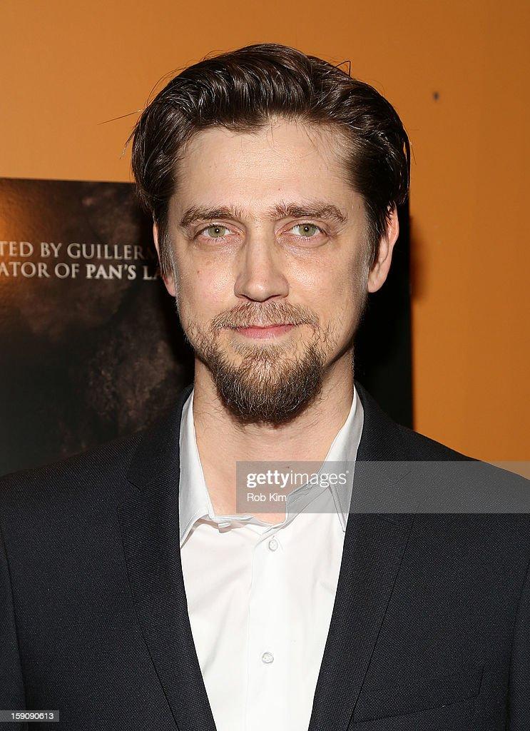 Director Andy Muschietti attends the 'Mama' screening at Landmark's Sunshine Cinema on January 7, 2013 in New York City.