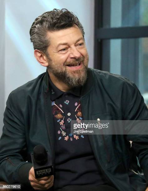 Director Andy Serkis attends Build to discuss 'Breathe'at Build Studio on October 11 2017 in New York City